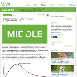 Bridging the Missing Middle: The Impact of Larger Loans on Kiva