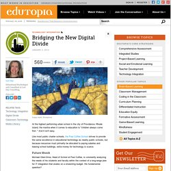 Bridging the New Digital Divide