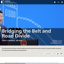 Bridging the Belt and Road Divide