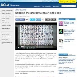 Bridging the gap between art and code