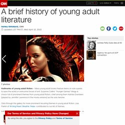 A brief history of young adult literature