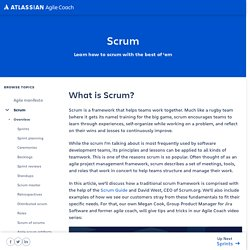 A Brief Introduction to Scrum: Scrum Process & Roles