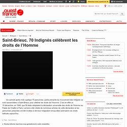 Saint-Brieuc. 70 Indignés célèbrent les droits de l'Homme - Saint-Brieuc - Faits de société