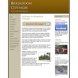 Brigadoon Cottages - Home