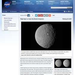 'Bright Spot' on Ceres Has Dimmer Companion