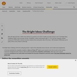 The Bright Ideas Challenge