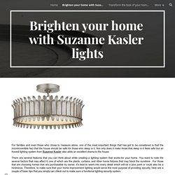 Brighten your home with Suzanne Kasler lights
