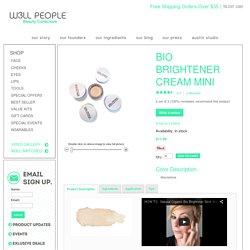 Bio Brightener Cream Mini - BIO BRIGHTENER - FACE W3LL PEOPLE