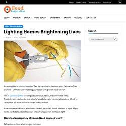 Lighting Homes Brightening Lives - Feed Inspiration