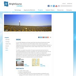 BrightSource Energy Research