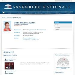 Mme Brigitte Allain : Assemblée Nationale