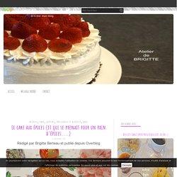 Le cake aux épices (et qui se prenait pour un pain d'épices....) - Atelier de Brigitte (Gironde 33230 COUTRAS, LIBOURNE, SAINT-DENIS de PILE, SAINT-SEURIN/L'ISLE) cuisine, recettes, partages,