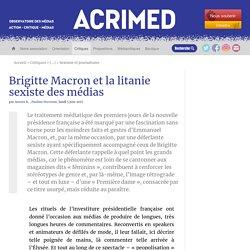 Brigitte Macron et la litanie sexiste des médias