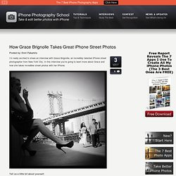 How Grace Brignolle Takes Great iPhone Street Photos