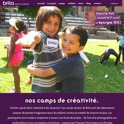 Brila – Projets jeunesse ›› Camps