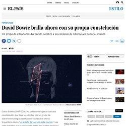 David Bowie brilla ahora con su propia constelación