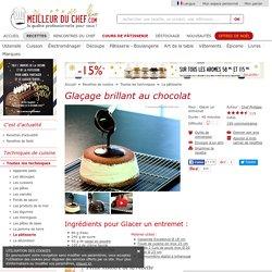 Glaçage brillant au chocolat - Fiche recette illustrée