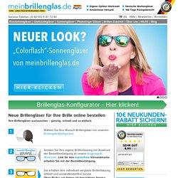 Brillengläser online bestellen - meinbrillenglas