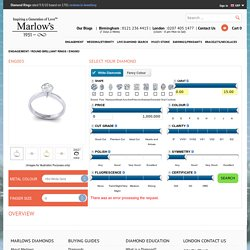 Round Brilliant Rings Available From Marlow's Diamonds