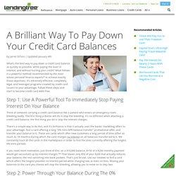 Credit Card Debt Relief - LendingTree