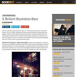 5 Brilliant Bookstore-Bars