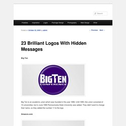 23 Brilliant Logos With Hidden Messages