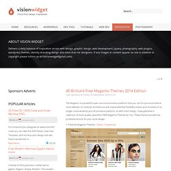 40 Brilliant Free Magento Themes 2010 Edition | VisonwidGet