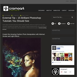 External Tip – 15 Brilliant Photoshop Tutorials You Should See