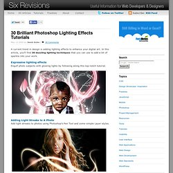 30 Brilliant Photoshop Lighting Effects Tutorials