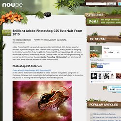 Brilliant Adobe Photoshop CS5 Tutorials From 2010 - Noupe Design Blog