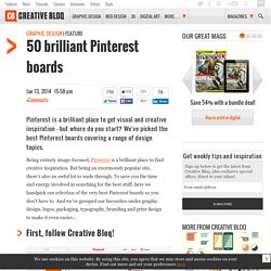 50 brilliant Pinterest boards