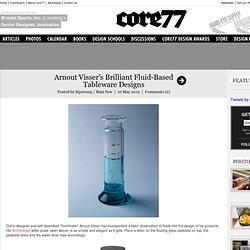 Arnout Visser's Brilliant Fluid-Based Tableware Designs