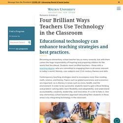 Four Brilliant Ways Teachers Use Technology in the Classroom