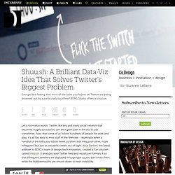 Shuu.sh: A Brilliant Data-Viz Idea That Solves Twitter's Biggest Problem