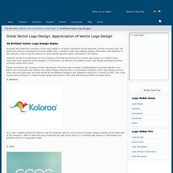 30 Brilliant Vector Logo Design Styles