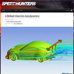 A Brilliant View Into Aerodynamics