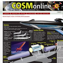Reaction Engine's Skylon: A brilliantly British spaceplane