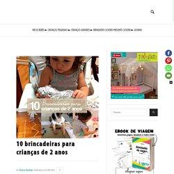 10 brincadeiras para crianças de 2 anos - TempoJunto