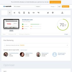 Analyse du site brindouest.com
