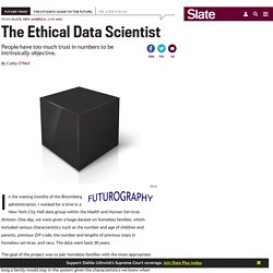 How to bring better ethics to data science.