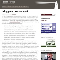 bring your own network