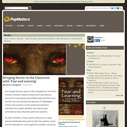 Bringing Horror to the Classroom with 'Fear and Learning'