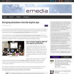 Comment réinventer l'éducation avec le numérique ?