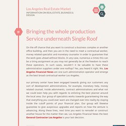 Bringing the whole production Service underneath Single Roof