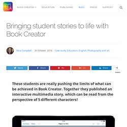 Bringing student stories to life (Book Creator)