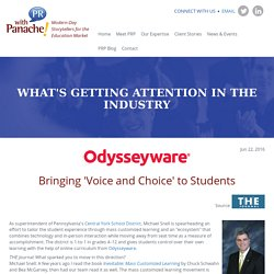 Bringing 'Voice and Choice' to Students