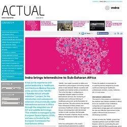 Indra brings telemedicine to Sub-Saharan Africa