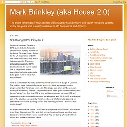 Mark Brinkley (aka House 2.0): Spluttering SIPS: Chapter 2