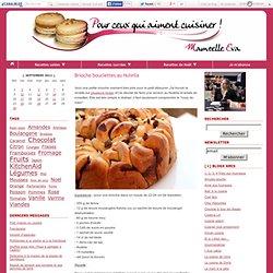 Brioche bouclettes au Nutella