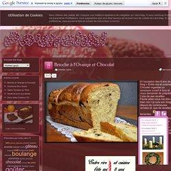 Brioche à l'Orange et Chocolat - Pounchki